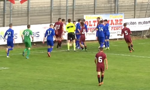 Поединок Динамо U-17 — Торино U-17 завершился массовой дракой игроков