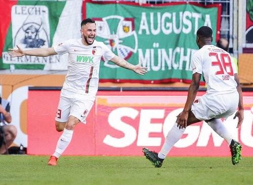 Аугсбург — Штутгарт — 6:0. Видео голов и обзор матча