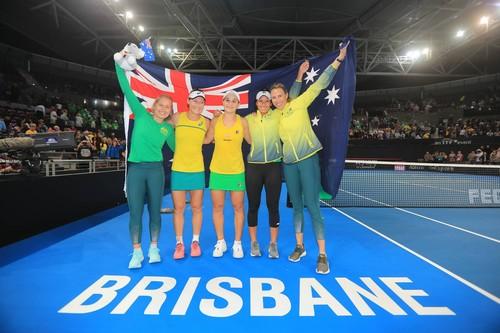 ВИДЕО. Австралия вышла в финал Кубка Федерации