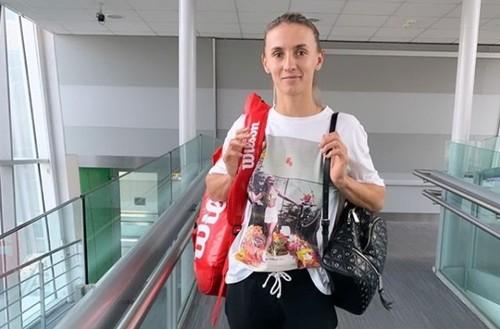 ФОТО. Цуренко готовится к турниру в Штутгарте