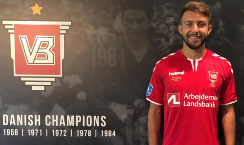 Владлен Юрченко отметился дублем в чемпионате Дании
