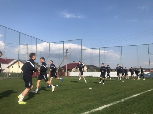 Черноморец провел тренировку во Львове