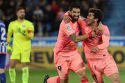 Барселона не оставила шансов Алавесу