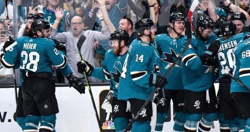 ВИДЕО. НХЛ. Сан-Хосе забросил 4 шайбы в одном большинстве