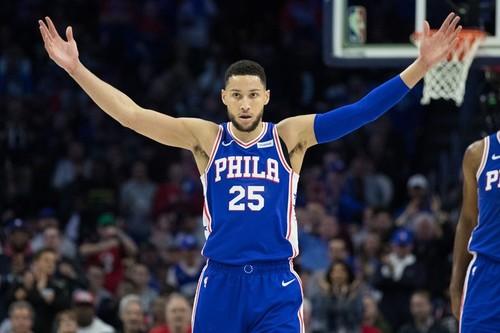 Данки Симмонса в топ-10 дня в НБА
