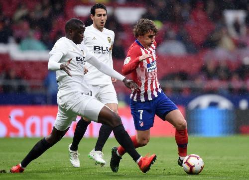 Атлетико – Валенсия – 3:2. Видео голов и обзор матча
