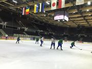 Сборная Украины провела первую тренировку в Таллинне