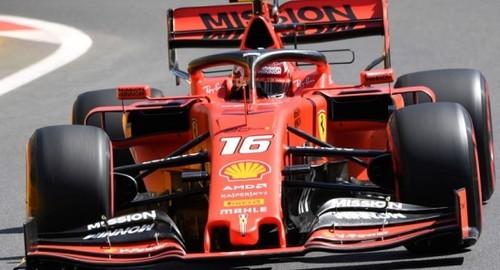Феррари доминирует в третьей практике Гран-при Баку, скорость Ред Булл
