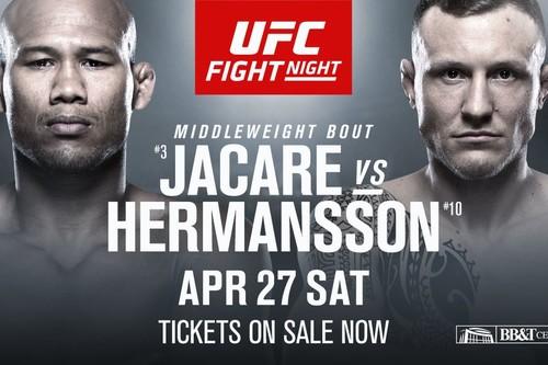Где смотреть онлайн UFC on ESPN+ 8: Роналдо Соуза – Джек Херманссон