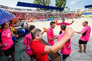 В среду в Киеве стартует чемпионат Украины по пляжному футболу 2018