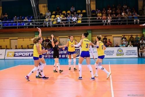 Волейбол. Украина - Греция. Смотреть онлайн. LIVE