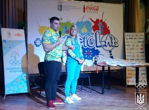 Торохтій та Харлан зустрілись з дітьми у рамках проекту #OlympicLab