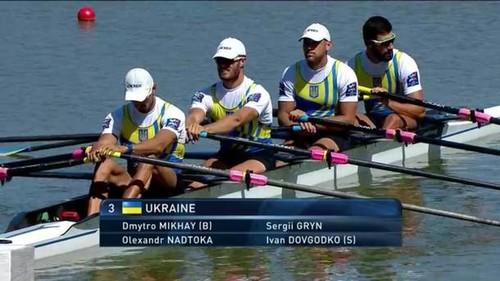 Украинцы завоевали бронзу ЧМ по гребле