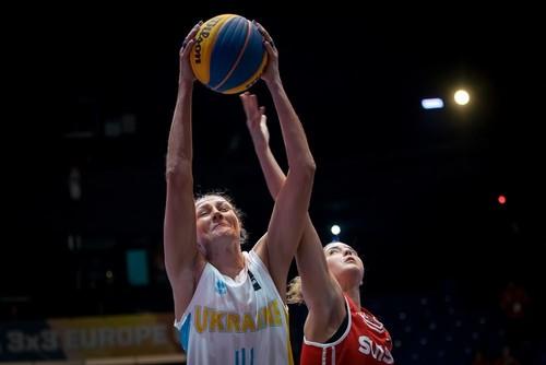 Жіноча збірна з баскетболу 3х3 поступилась Іспанії