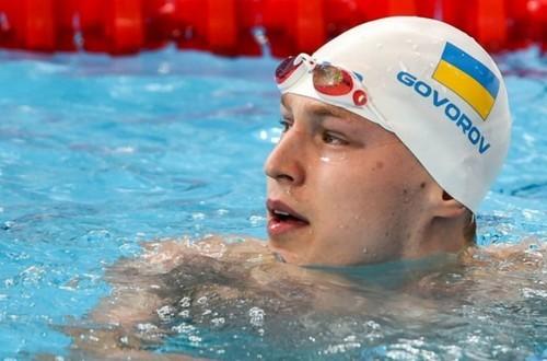 Украинец Говоров выиграл золото на этапе Кубка мира по плаванию