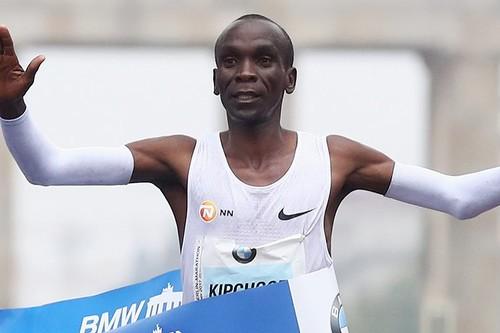 Элиуд Кипчоге побил мировой рекорд в марафоне