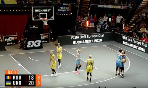 Жіноча збірна України 3х3 вийшла у півфінал чемпіонату Європи