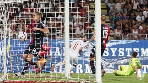 Кальяри - Милан 1:1. Видео голов и обзор матча