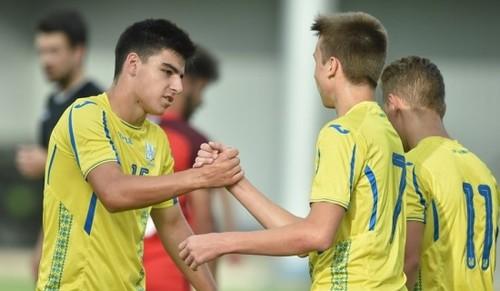 Украина U-17 забила Азербайджану 7 голов