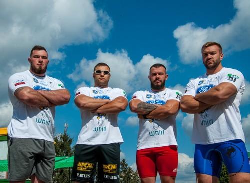 Київ виборов золото командного чемпіонату стронгменів