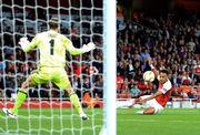 Арсенал победил Ворсклу в матче Лиги Европы
