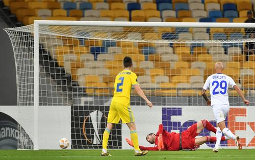 Динамо упустило победу над Астаной в компенсированное время