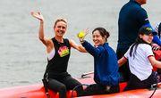 ФОТО ДНЯ. Свитолина и Ли На сыграли в теннис на воде