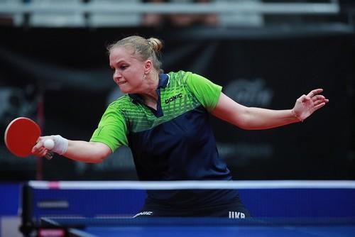 Песоцька вийшла в півфінал чемпіонату Європи з настільного тенісу
