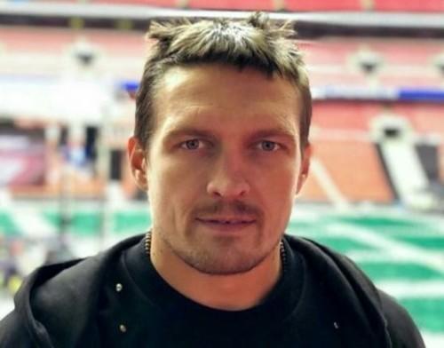 Александр Усик заявил, что будет боксировать с Джошуа