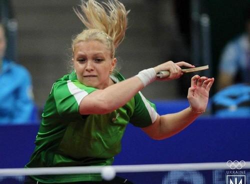 Песоцкая вышла в финал чемпионата Европы по настольному теннису