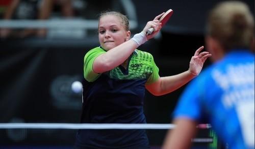 Песоцкая завоевала серебро чемпионата Европы по настольному теннису