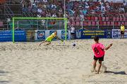 ЧУ по пляжному футболу 2018: итоги стартового игрового дня