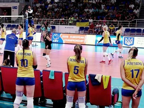Женская сборная Украины проиграла волейболисткам Греции