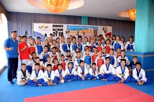 Харьков посетила делегация спортсменов тхэквондо Китая