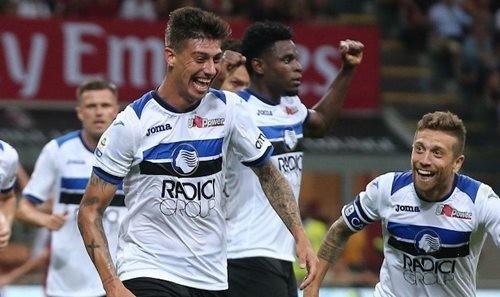 Аталанта спаслась в матче с Миланом