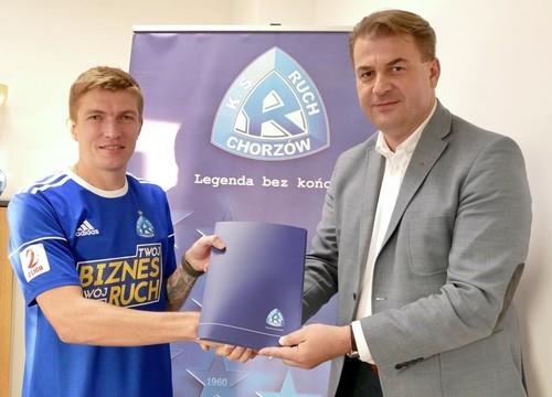 Мягков продолжит карьеру в чемпионате Польши