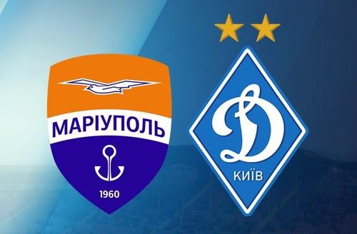 Мариуполь – Динамо. Видео голов и обзор матча