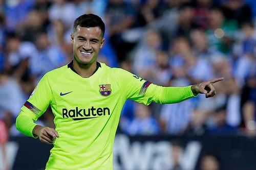 Леганес - Барселона. Видео яркого гола Коутиньо