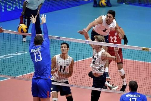Волейболисты США нанесли поражение сборной России на ЧМ