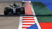 Третья практика Гран-при Сочи. Мерседес быстрейший, Феррари «не едет»
