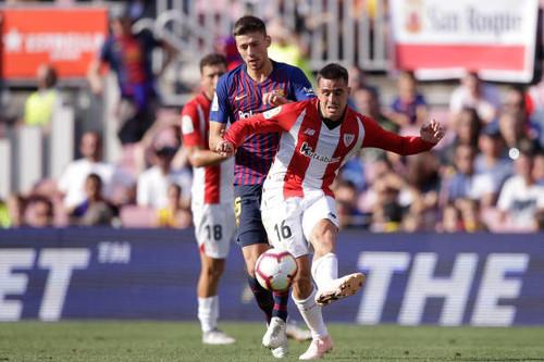 Барселона спаслась от поражения в матче против Атлетика на Камп Ноу