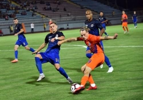 Мариуполь минимально обыграл Черноморец в Одессе