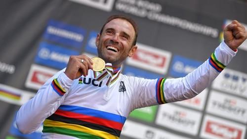 Вальверде – чемпион мира по велоспорту