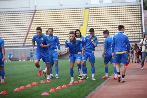 Молодіжна збірна України розпочала підготовку до жовтневих матчів
