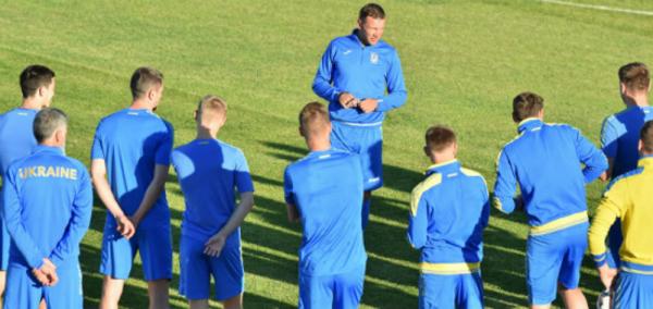 Шевченко назвал состав на матчи Украины против Италии и Чехии