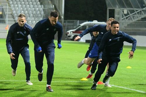 Открытая тренировка Динамо перед матчем с Яблонцем. Как это было
