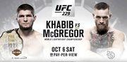 UFC 229. Нурмагомедов - Макгрегор. Полный кард турнира