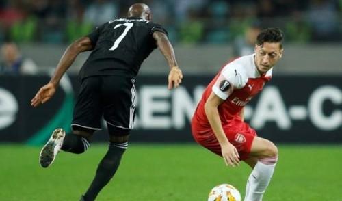 Карабах — Арсенал - 0:3. Видео голов и обзор матча