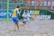 Пляжный футбол: определились три полуфиналиста ЧУ-2018