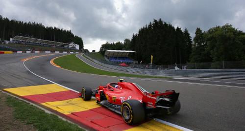 Гран-при Бельгии. Райкконен быстрейший во второй практике